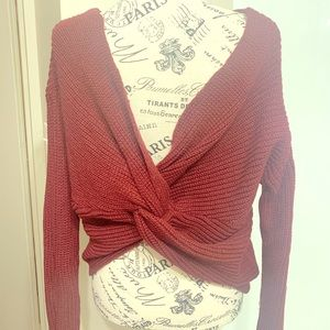 Twiss Back Sweater